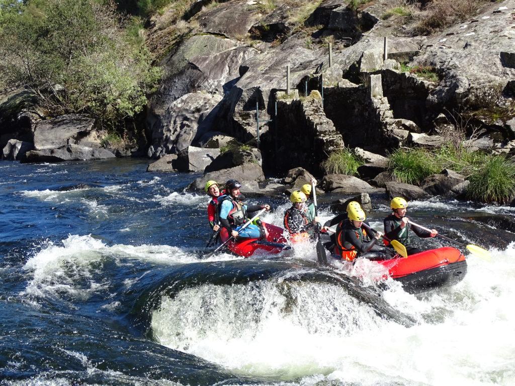 Rafting Rio Ulla